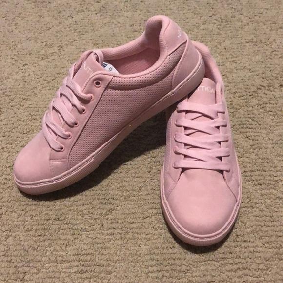 Nwt Nautica Rose Pink Tennis Shoes